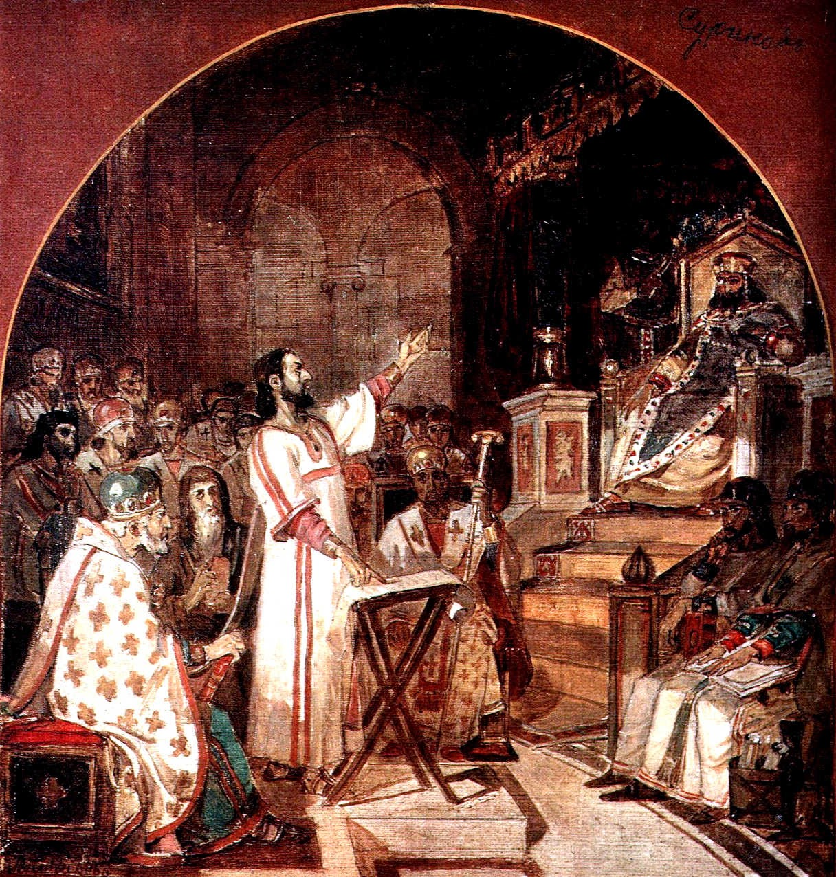 the men of the nicaea council theology religion essay Faith, this paper offers a brief history of christianity and summarizes the central  christian beliefs in god, jesus  nicaea in 325 ce this first major council of  the christian  christians—and people of other faiths, including muslims—is.