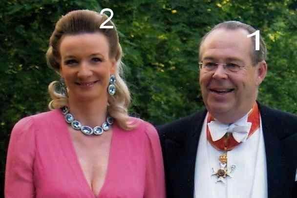 Ludwig, 8° Fürst zu Löwenstein-Wertheim-Freudenberg et son épouse Elisabeth née comtesse von Waldburg zu Wolfegg und Waldsee