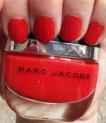 Marc Jacobs, Marc Jacobs Beauty, Marc Jacobs Beauty Enamored Hi-Shine Nail Lacquer Lola, nail polish, nail varnish, nail lacquer, nails, mani monday, #manimonday, manicure, Sephora