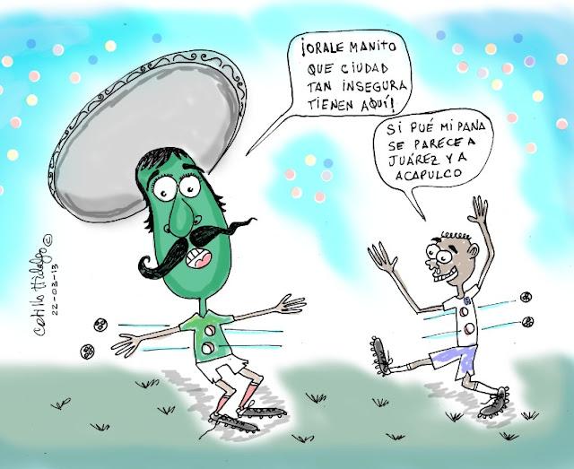 Mexicano hondureño futbol