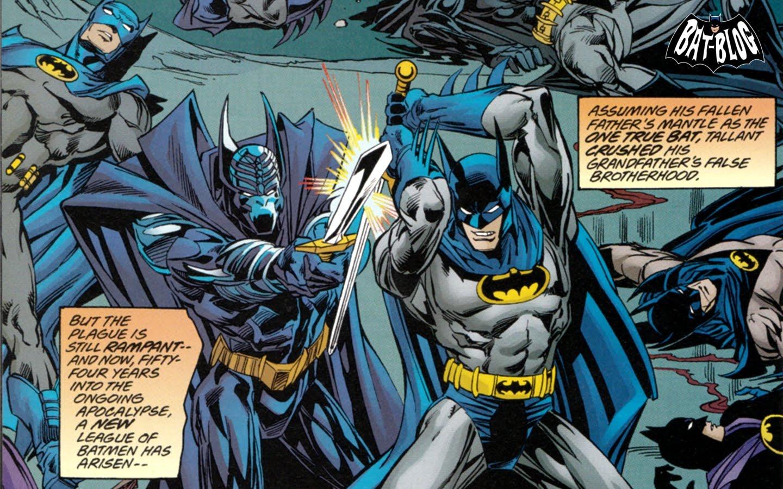 favourite tattoos: the league of batmen - wacky wallpaper wednesday!