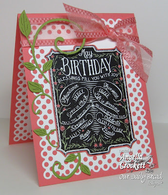 ODBD &quot;Chalkboard - Birthday&quot; Designer Angie Crockett