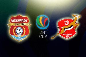 Keputusan Ayeyawady United vs Kelantan 13 Mac 2013 - Piala AFC 2013