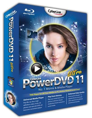 Free Download Cyberlink Power DVD Terbaru V.11 Full
