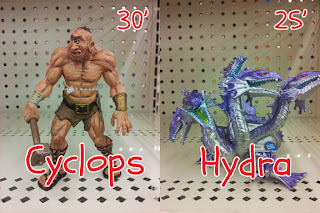 Monster figurines at Michael's Craft Store