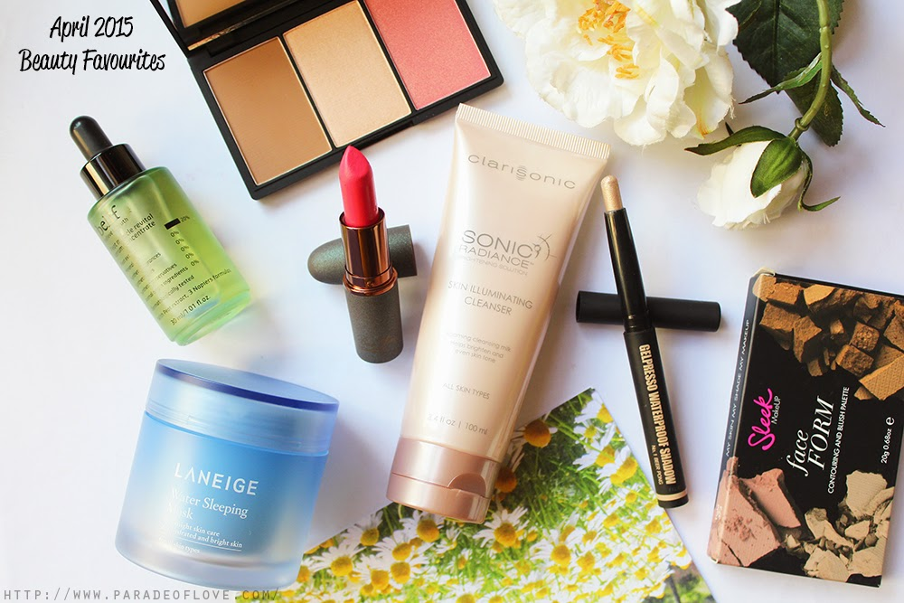 April 2015 Beauty Favourite