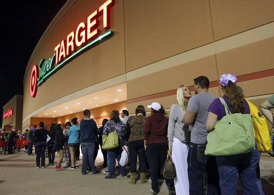 People In Line For Target Black Friday Store Opening