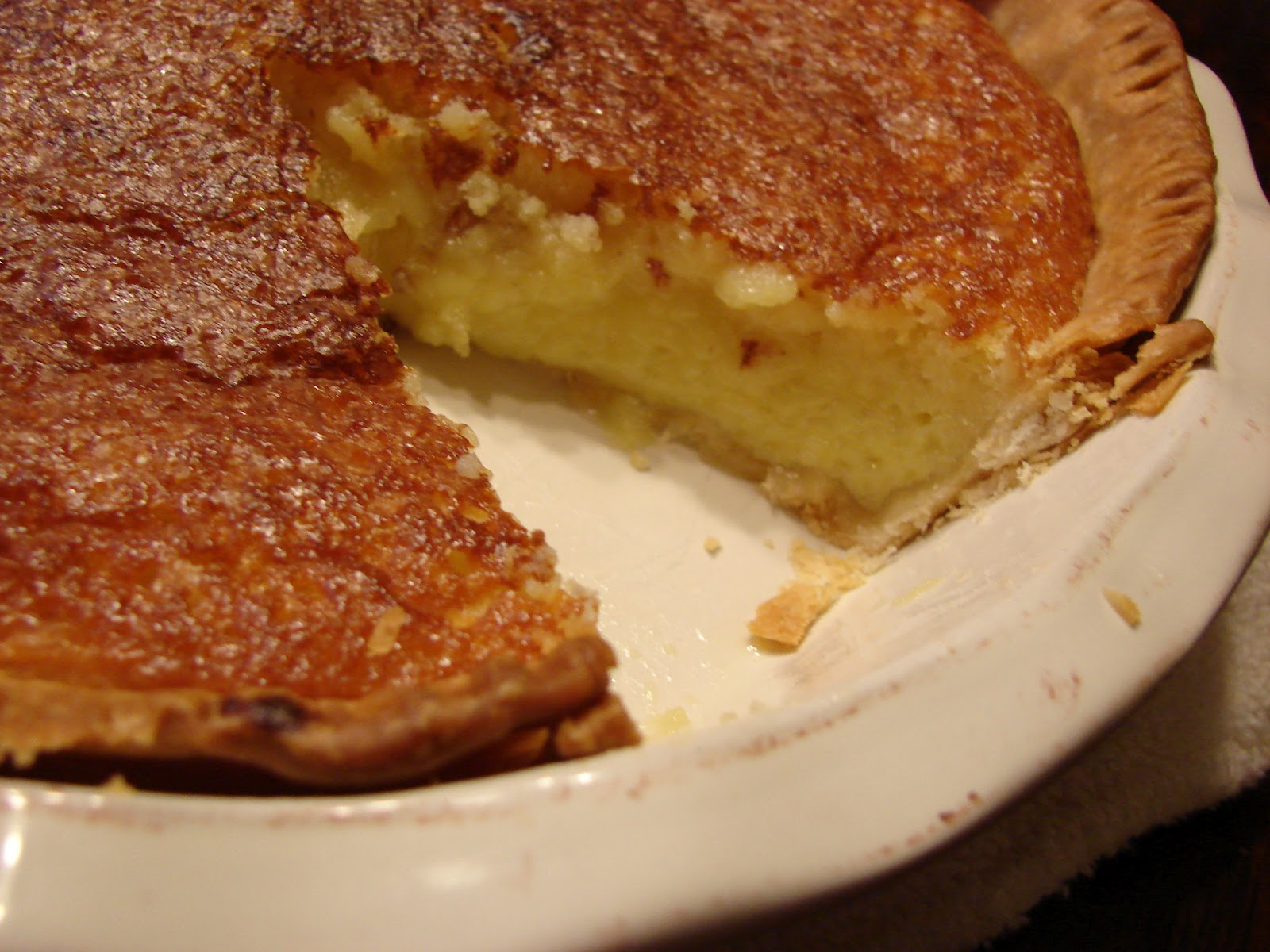 my blessed life: Butter Chess Pie