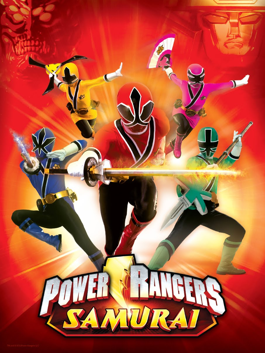 power rangers samuria