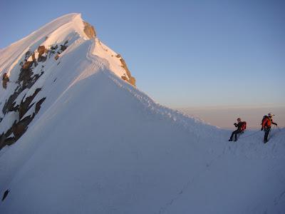 Aiguille Verte. Macizo del Mont Blanc.