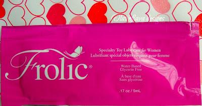 frolic women lubricant