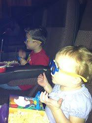 Evie's first movie and it's in 3D