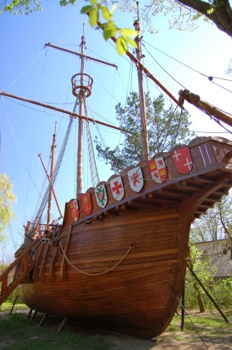 Statek Santa Maria w skali 1:1