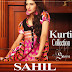 Sahil Kurti Collection 2014 by Shariq Textiles | Sahil Eid-Midsummer 2014