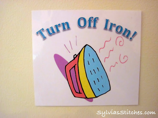 Turn Off Iron Reminder Card