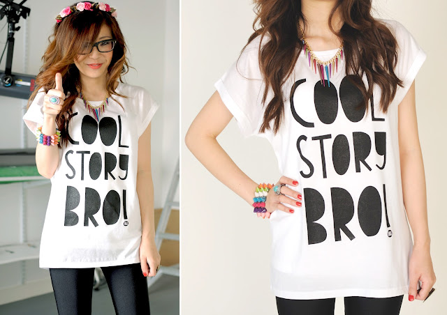 cool story, bro tshirt, screen printed tshirts