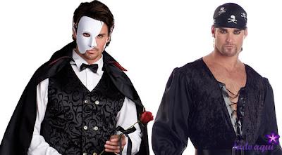 Fantasias de Carnaval Masculino piratas