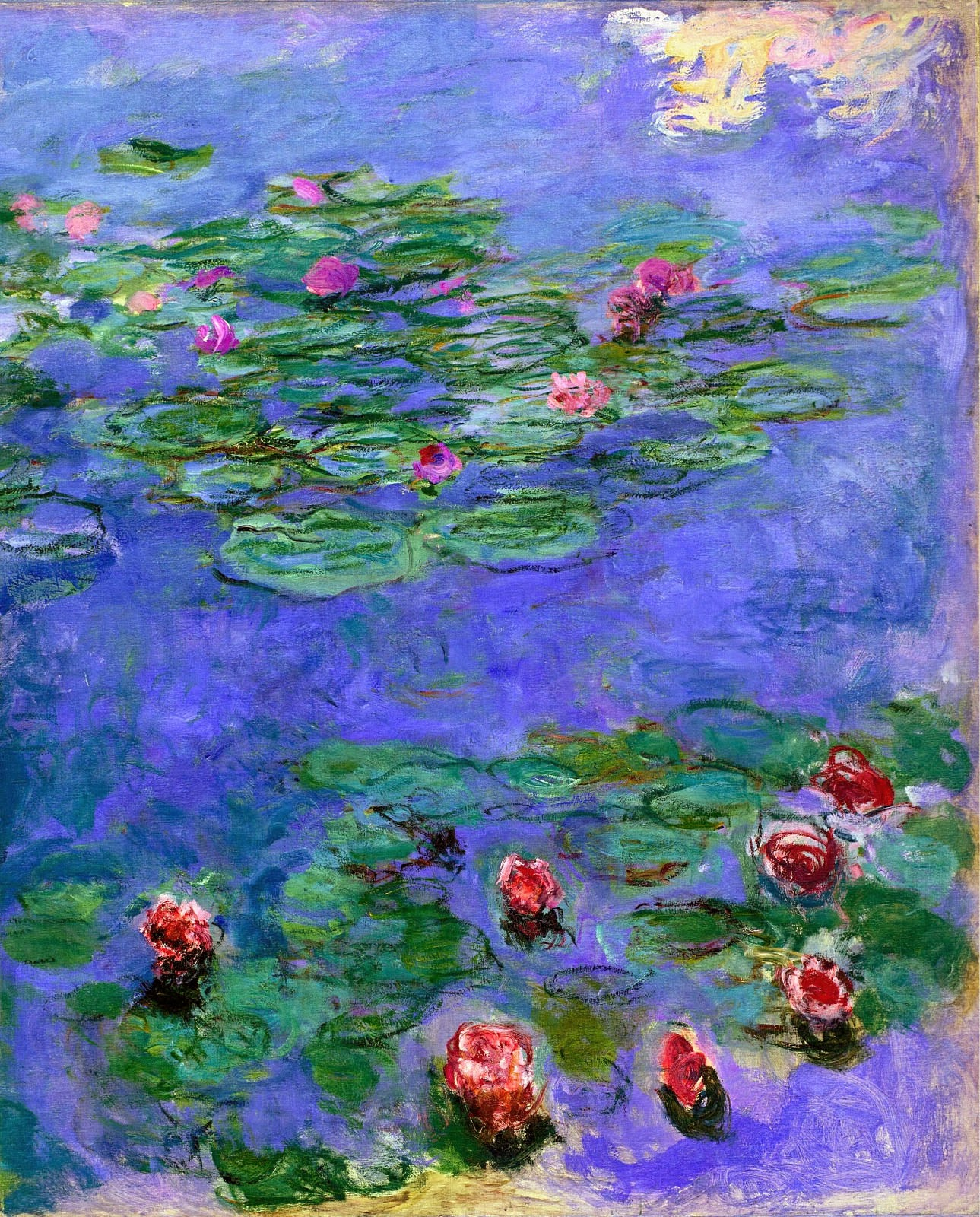 art artists claude monet part 24 1897 1922 water lilies