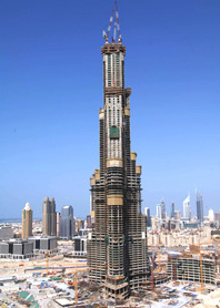Burj Dubai - tallest tower in the world