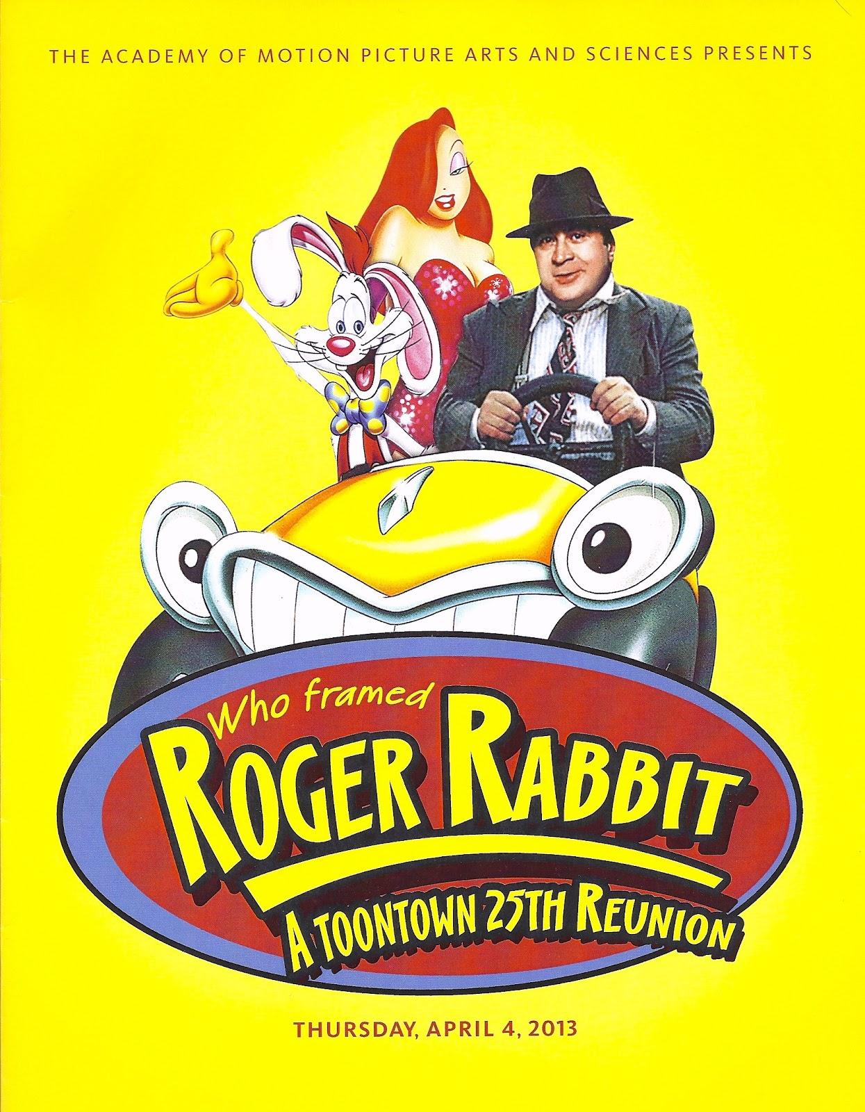 ImNotBad.com - A Jessica Rabbit Site: Roger Rabbit Reunion Panel
