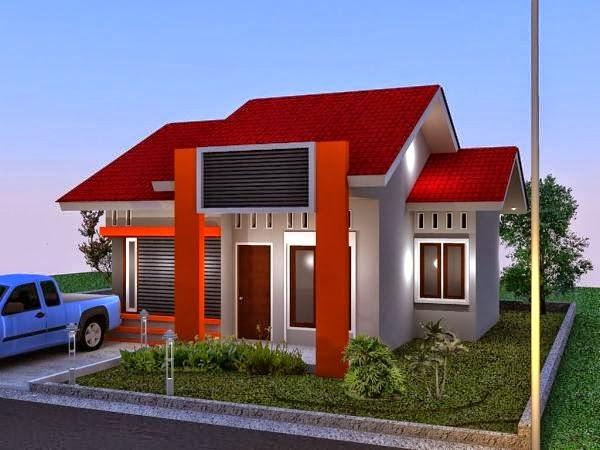 contoh model rumah minimalis 1