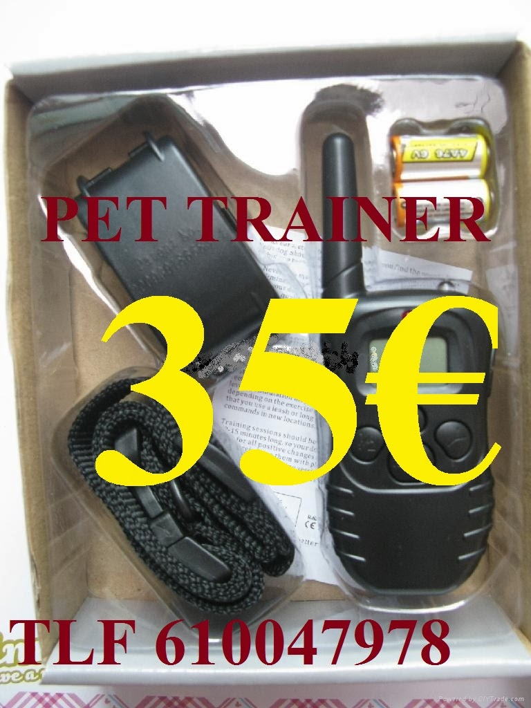 PET TRAINER Nº6 A PILAS IMPORT (SIMPLE) 35€