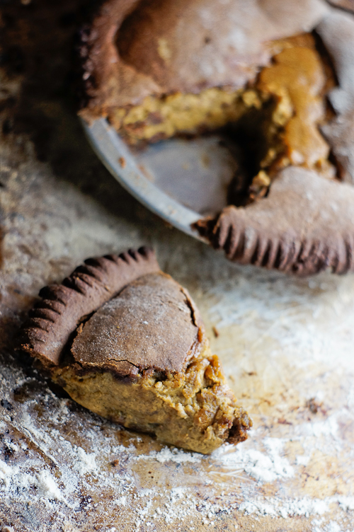 Gingerbread Eggnog Pumpkin Pie | Best Pie Recipes Ever: Perfect For Christmas And Special Holidays