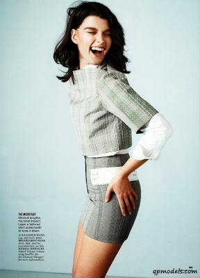 Crystal Renn HQ Pictures Glamour US Magazine Photoshoot March 2014
