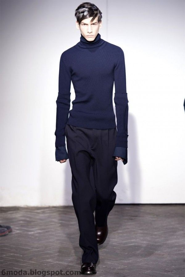 Raf Simons   Paris Fashion Week   Fall Winter 2013 2014 Menswear