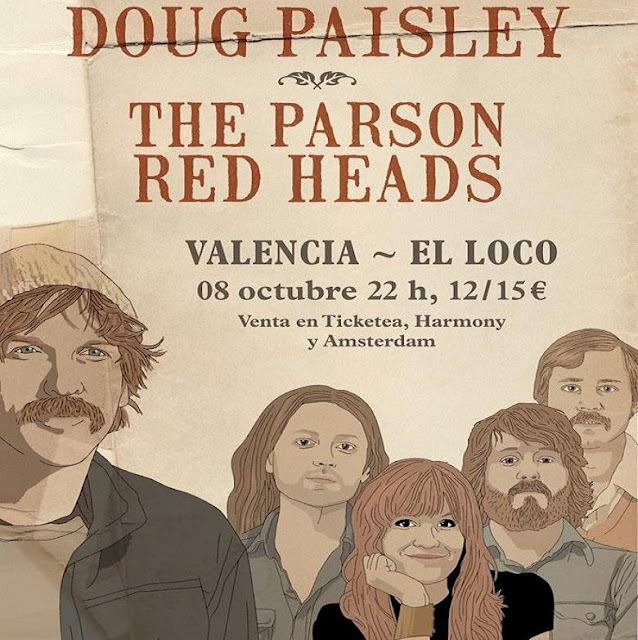 THE PARSON RED HEADS + DOUG PASLEY Loco Club, Valencia 1