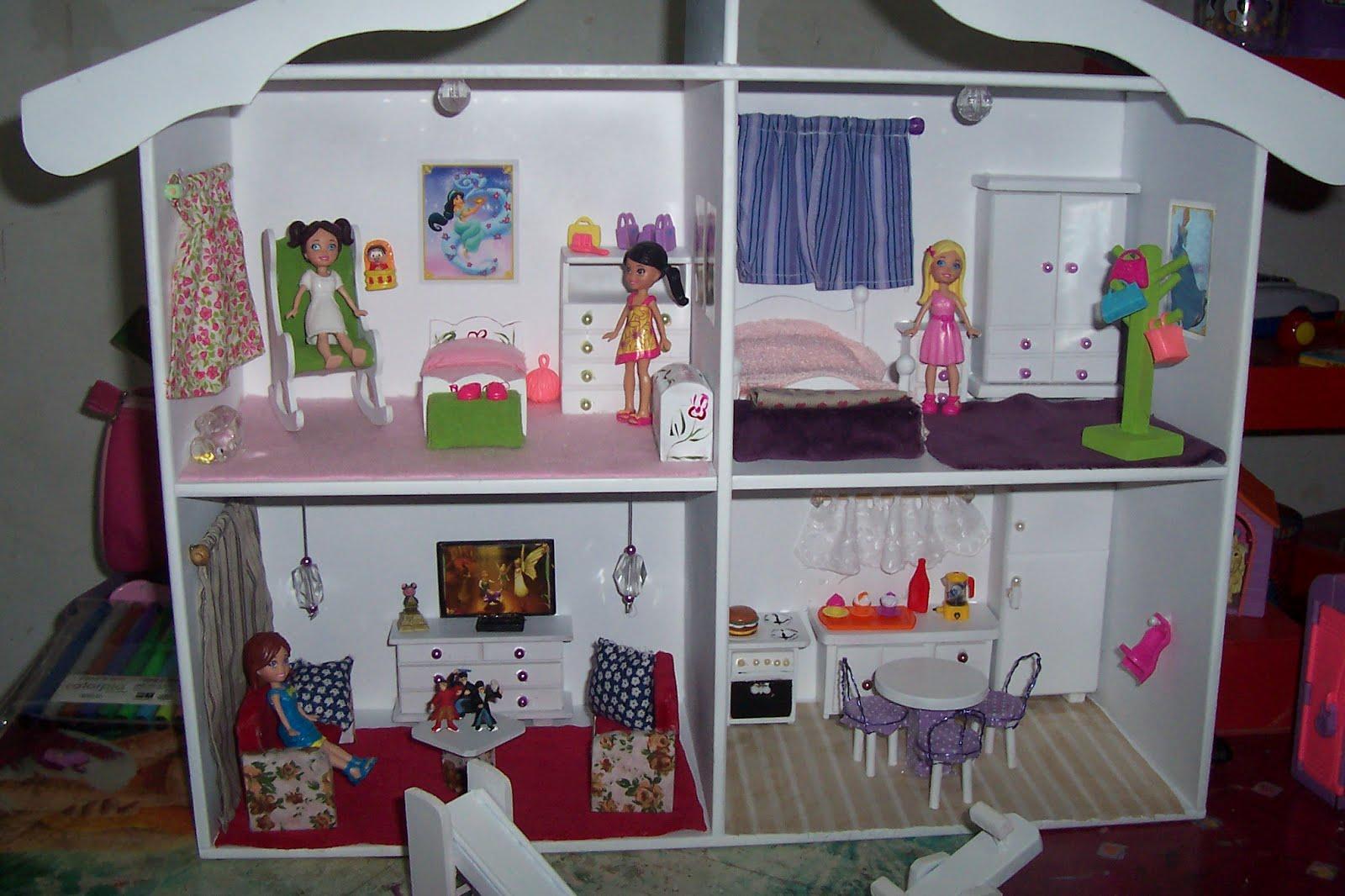 ART LUCI FERREIRA: casinha de boneca laqueada com moveis #682830 1600x1066