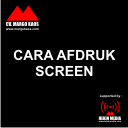 cara afdruk screen