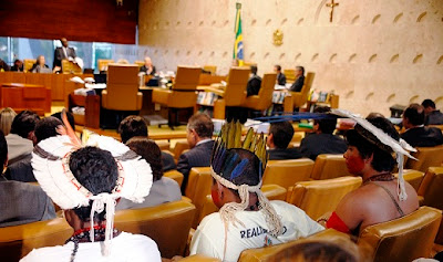 Índios Pataxós no Supremo Tribunal Federal