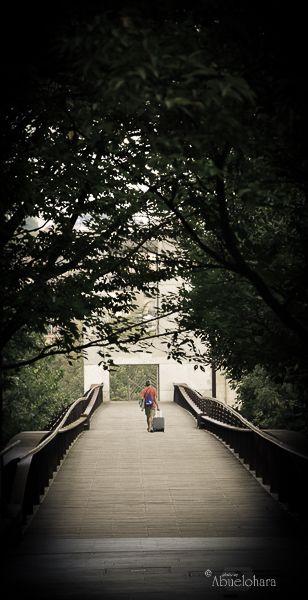 Viajar sin ti. Poema y fotografía