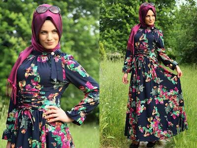 فساتين الحجاب التركي