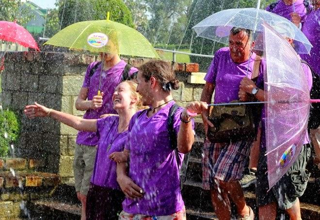 lễ hội mưa tại du lịch Đà Lạt