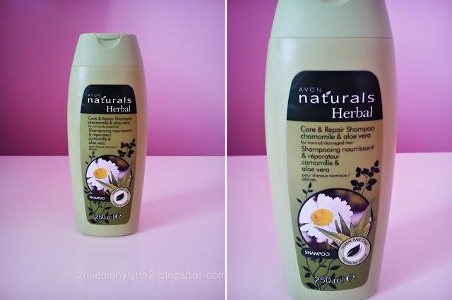 Avon Naturals Herbal - szampon do włosów normalnych i zniszczonych