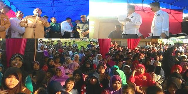 Kampanye Perdana di Hamparan Rawang, Ini Program Aksi Nyata Fesbuker