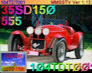 SSTV 104TDT001