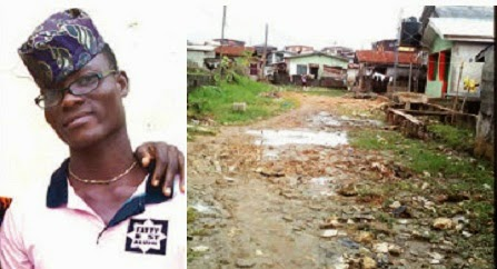 boy stabbed death lagos church