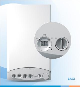 Unidad de caldera compacta residencial para calefacción funciona a gas
