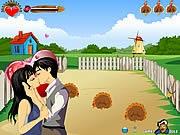 Game hôn nhau ở nông trại, game hon nhau hay