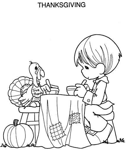precious moments thanksgiving coloring pages - printable thanksgiving coloring pages minnesota miranda