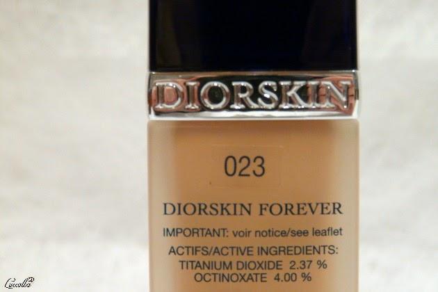 Diorskin Forever, ingredientes con función protectora