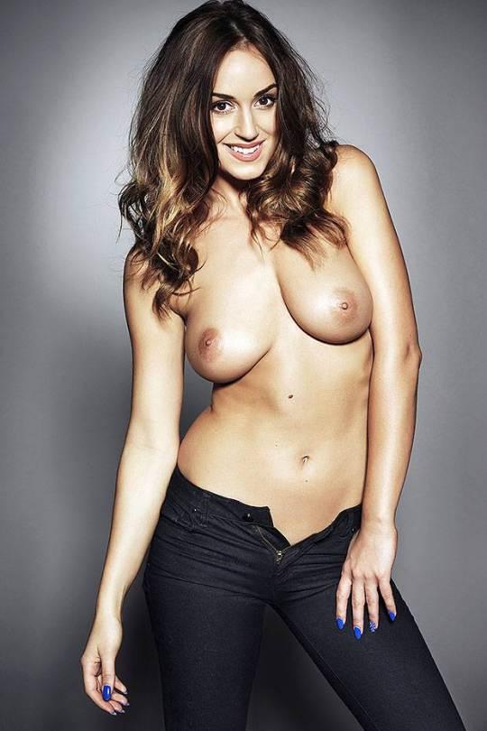 "Rosie Jones – ""Page 3″ Topless Photoshoot (NSFW) indianudesi.com"