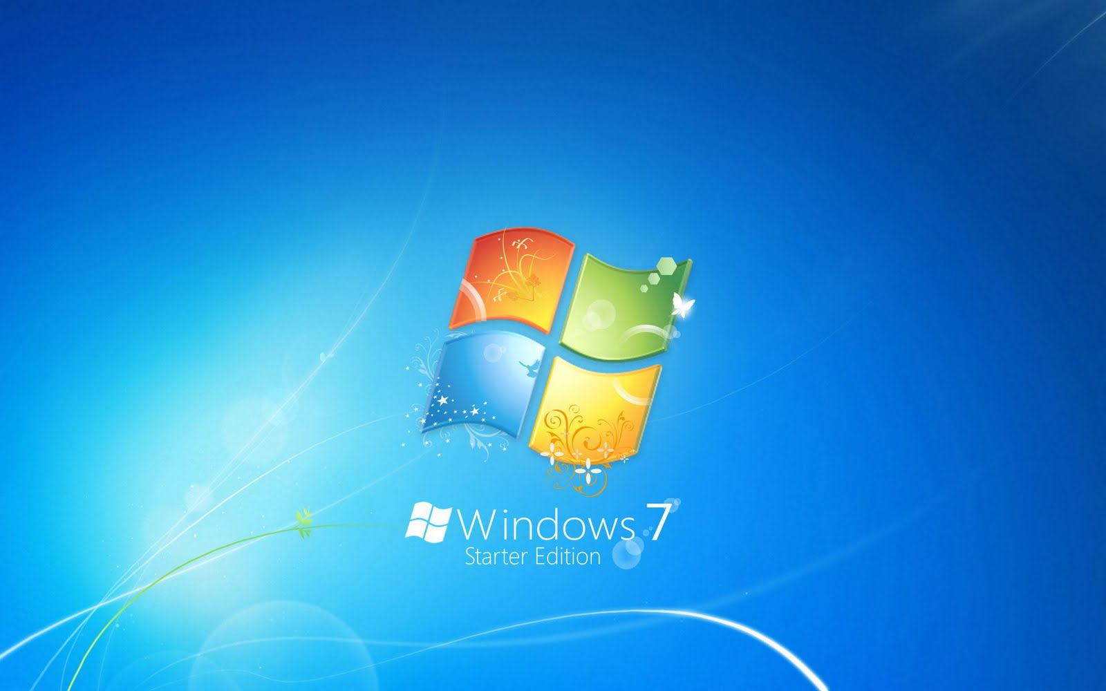 How to Change the Desktop Wallpaper in Windows 7 Starter  - windows 7 starter edition wallpapers