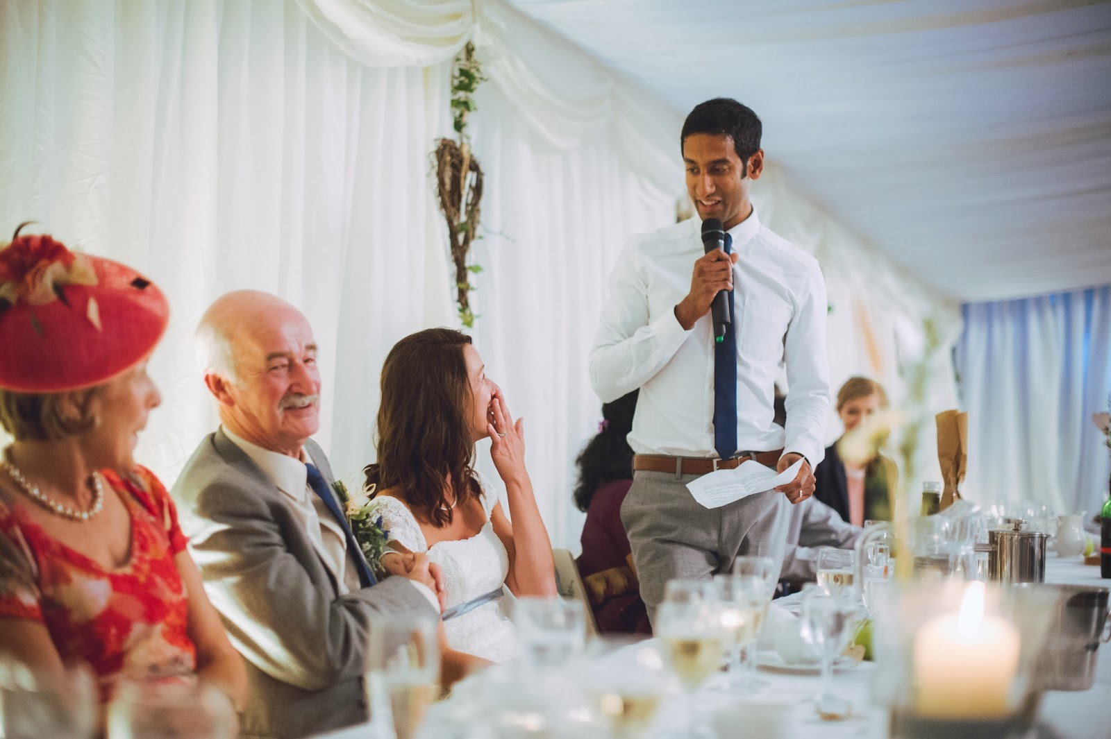 Groom's speech at Quantock Lakes wedding