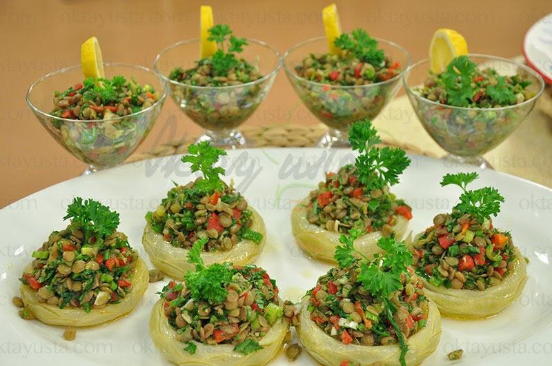 Mercimekli Enginar Salatası Tarifi