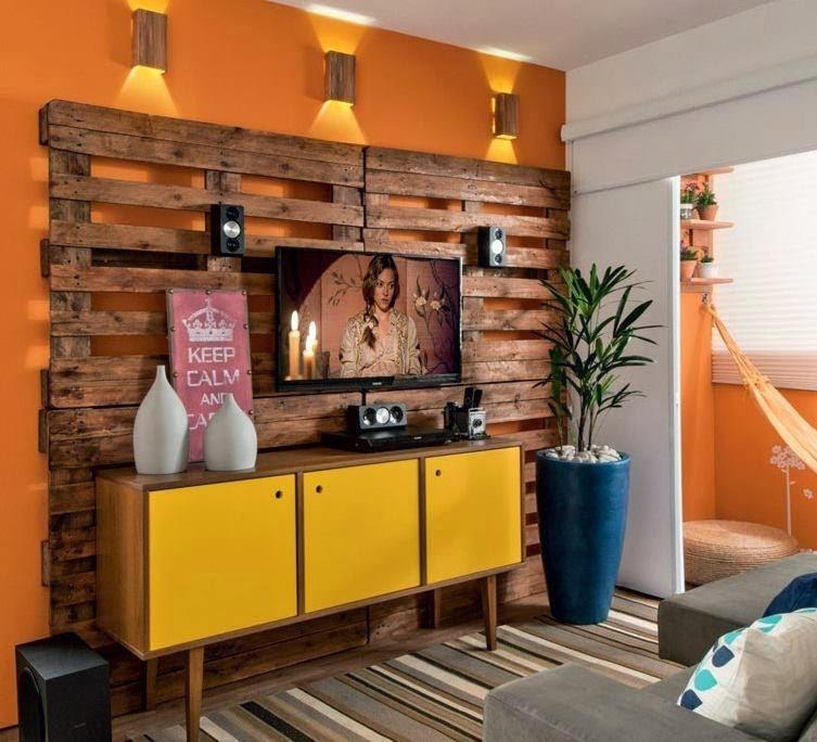 Construindo Minha Casa Clean Decorao Com Paletes E