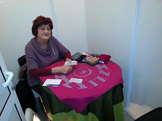 Maria Luisa Martin Vargas en Consultas. 32 Foro Internacional de las Ciencias Ocultas